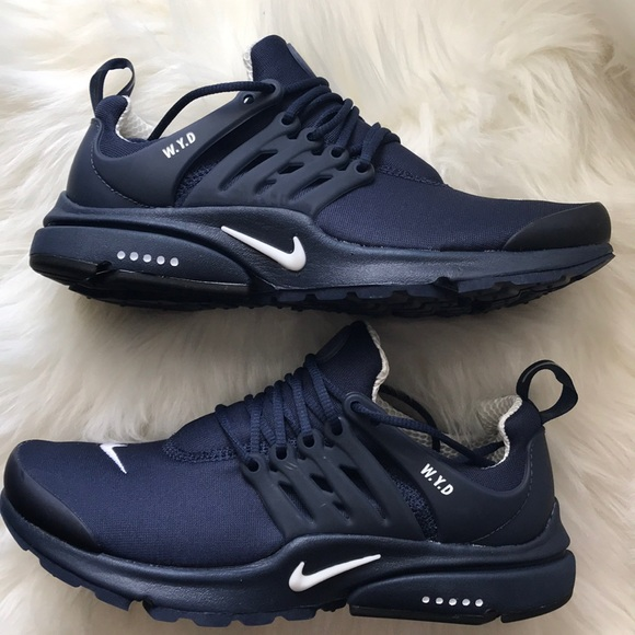 detailed look bfbf5 3abf7 NIKE ID PRESTO NAVY BLUE WOMENS SHOES SIZE 8 NEW